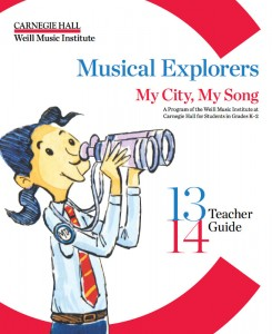 Carnegie Hall Muscial Explorers